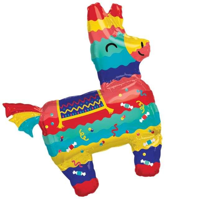 "Balon foliowy ""Lama fiesta"", Amscan, 32"", SHP"