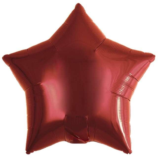 Balon foliowy Gwiazda czerwony Ibrex 15 STR