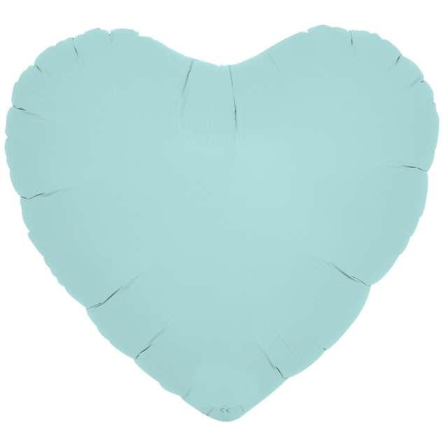 Balon foliowy Serce wypukłe niebieski Ibrex 14 5 szt. HRT