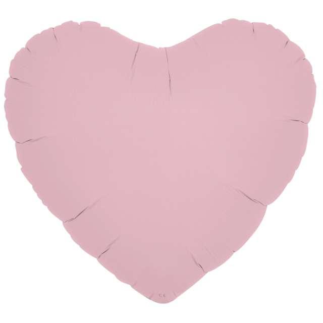 Balon foliowy Serce wypukłe różowy Ibrex 14 5 szt. HRT