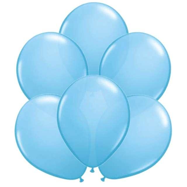 Balony Classic jasnoniebieskie Qualatex 11 6 szt