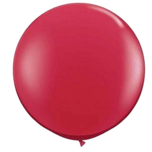 Balon olbrzym Classic czerwony rubin Qualatex 36 2 szt.