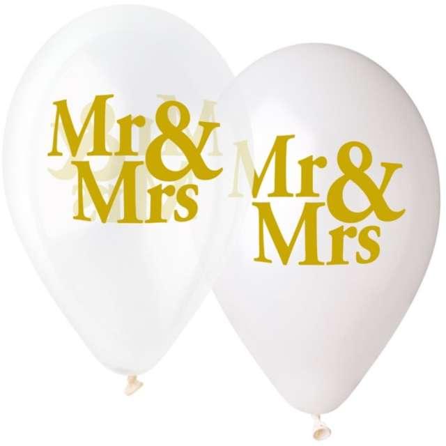 Balony Ślubne - Mr & Mrs Gemar 13 5 szt.