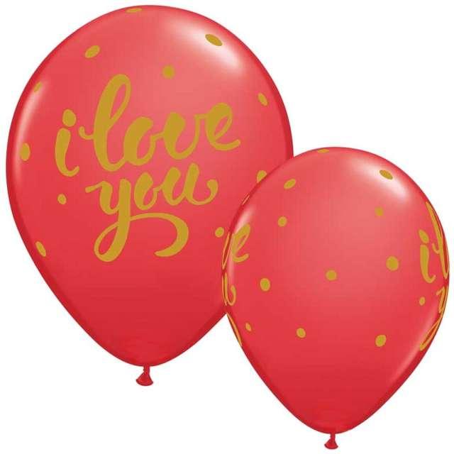 Balony Premium I love You Qualatex 11 25 szt.
