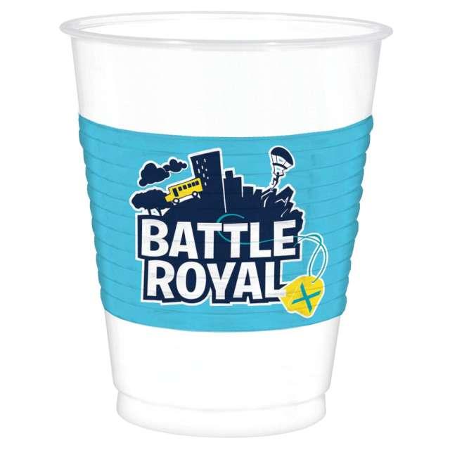 Kubeczki papierowe Battle Royale Amscan 473 ml 8 szt