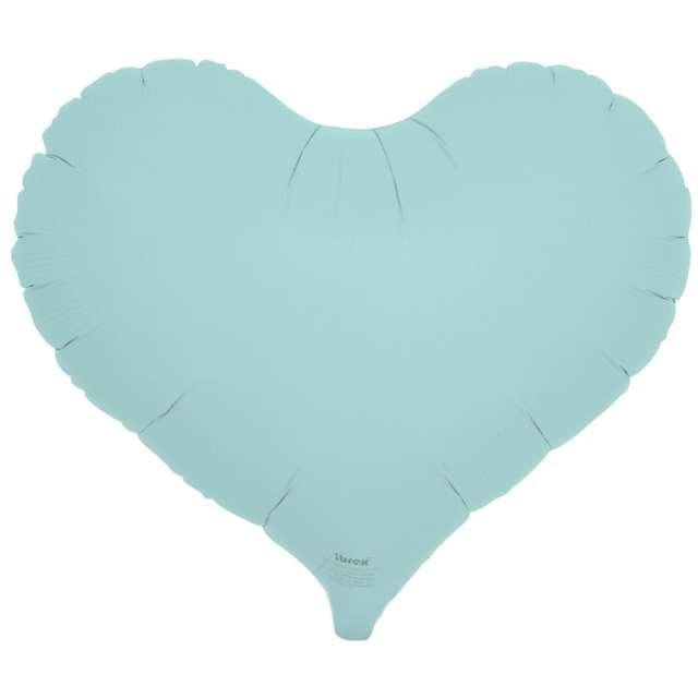 Balon foliowy Serce wklęsłe niebieski Ibrex 14 5 szt. HRT