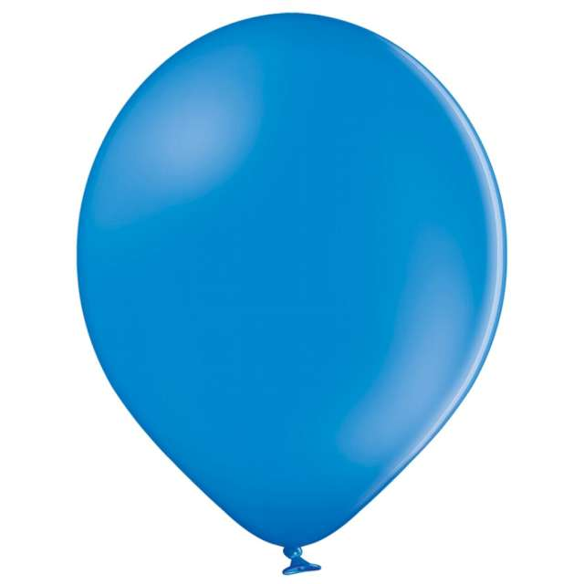 """Balony """"Pastel"""", niebieskie, Belbal, 12"""", 100 szt."""