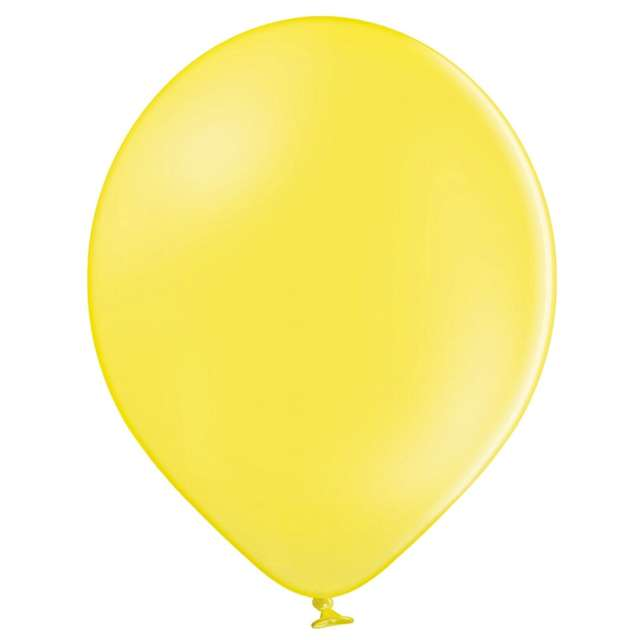 Balony Pastel żółte Belbal 12 100 szt.
