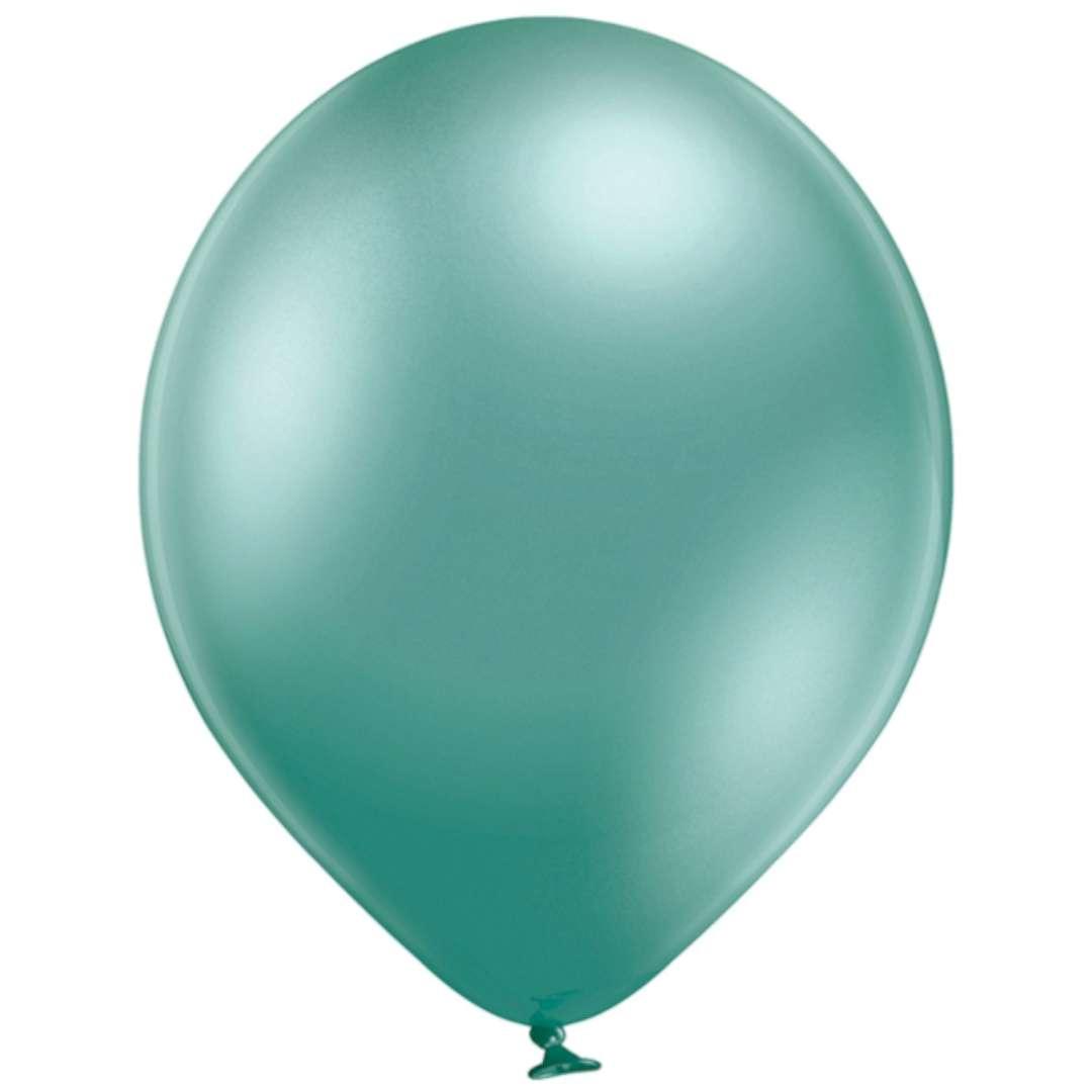 "Balony ""Błyszczące"", zielone, Belbal, 12"", 100 szt."