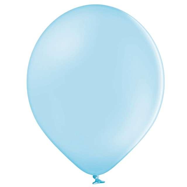 Balony Pastel błękitne Belbal 12 100 szt.