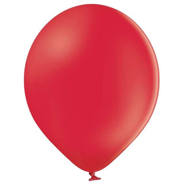Balony Pastel czerwone Belbal 12 100 szt.