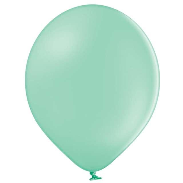 """Balony """"Pastel"""", jasnozielone, Belbal, 12"""", 100 szt."""
