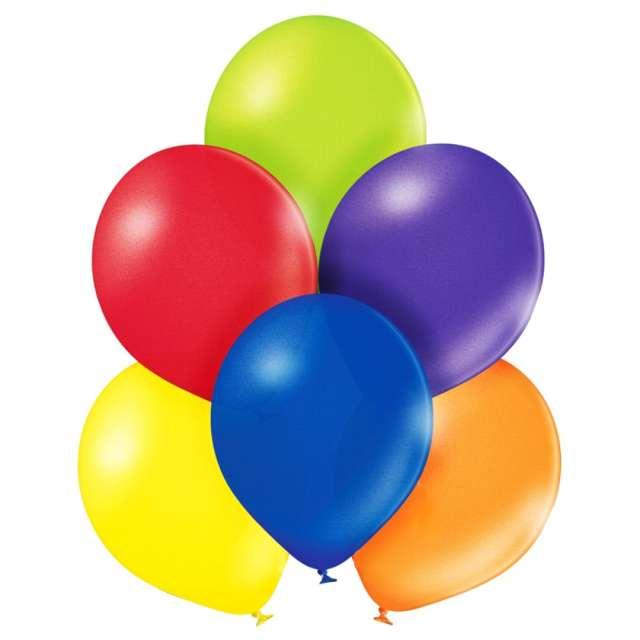 """Balony """"Pastel"""", mix, Belbal, 12"""", 100 szt."""
