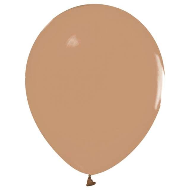 Balony Beauty and Charm - pastelowe karmelowy Godan 12 10 szt.
