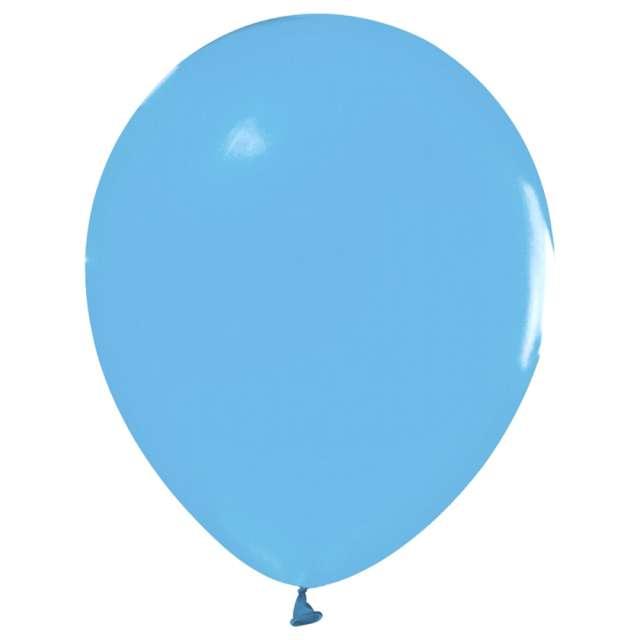 Balony Beauty and Charm - makaronowe blady niebieski Godan 12 10 szt.