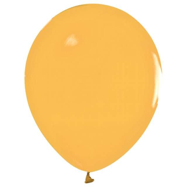 Balony Beauty and Charm - makaronowe bursztynowy Godan 12 50 szt.