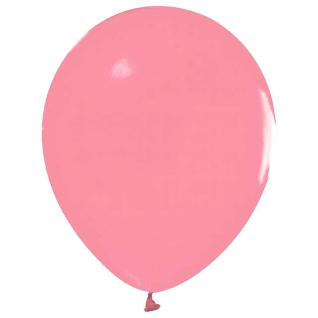 Balony Beauty and Charm - pastelowe flamingowy różowy Godan 12 50 szt.