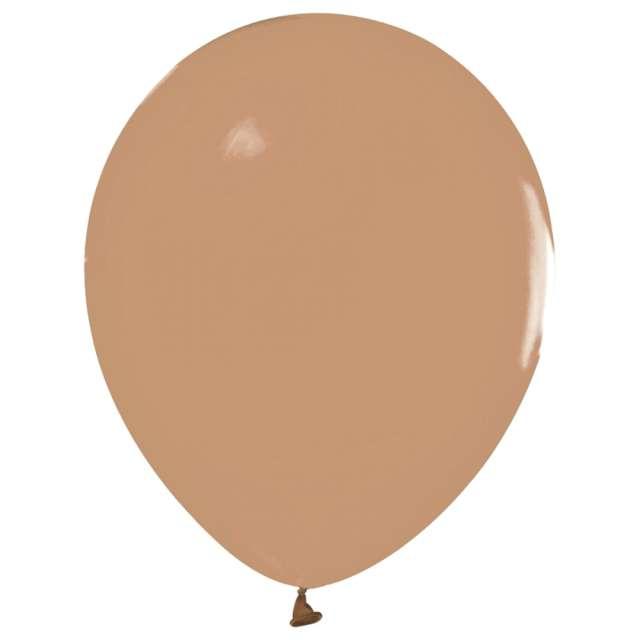 """Balony """"Beauty and Charm - pastelowe"""", karmelowy, Godan, 12"""", 50 szt."""