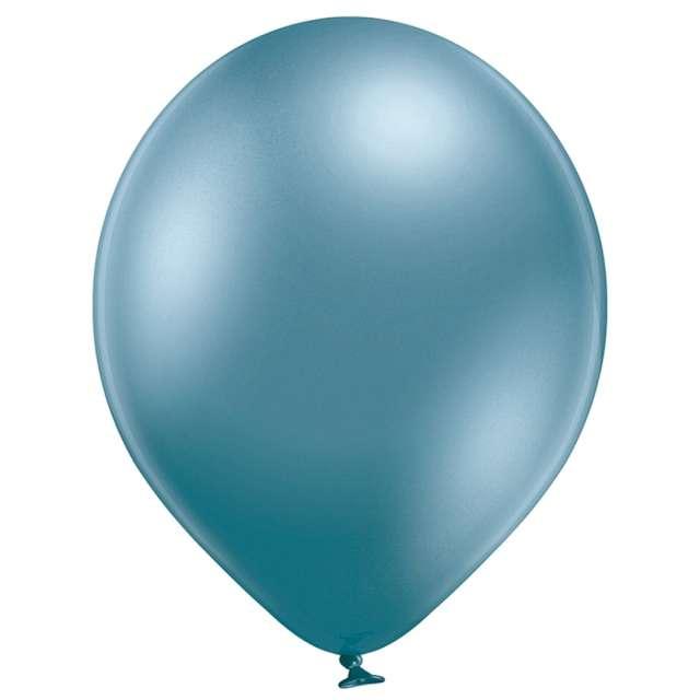 """Balony """"Błyszczące"""", niebieskie, Belbal, 12"""", 100 szt."""