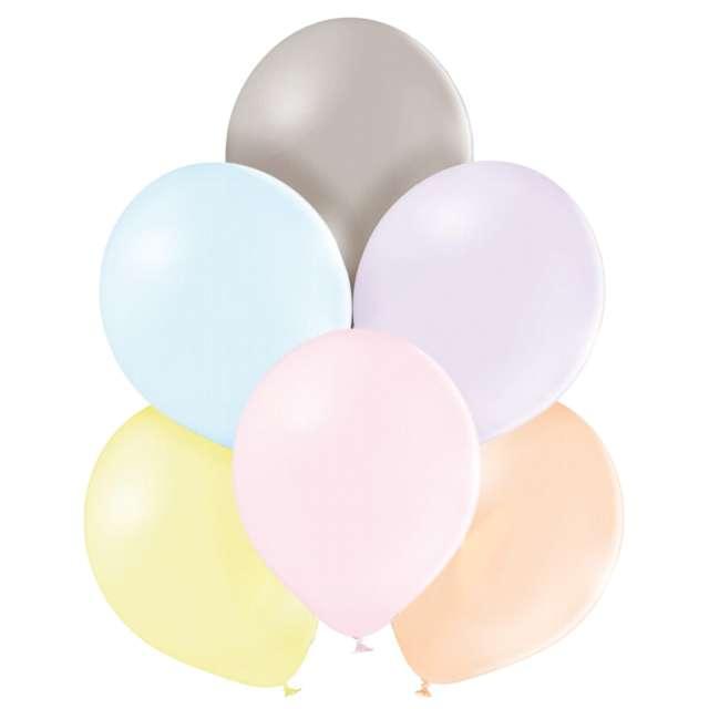 Balony Pastel mix makaron Belbal 10 100 szt.