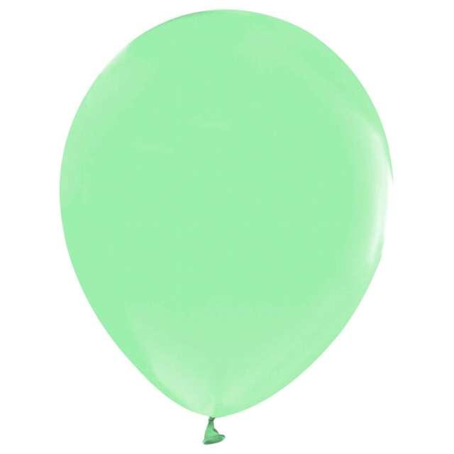 Balony Beauty and Charm - makaronowe zielone Godan 12 10 szt.
