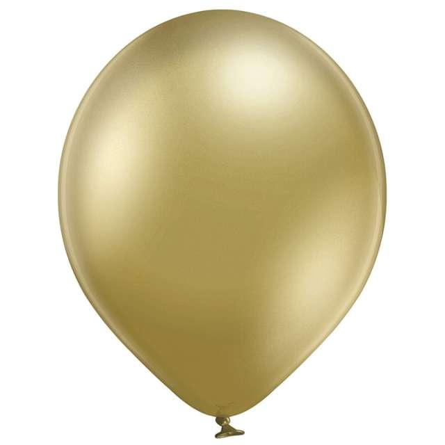 Balony Błyszczące złote Belbal 12 100 szt.