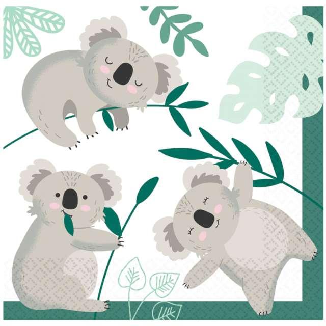 """Serwetki """"Misie Koala"""", Amscan, 33 cm, 16 szt"""