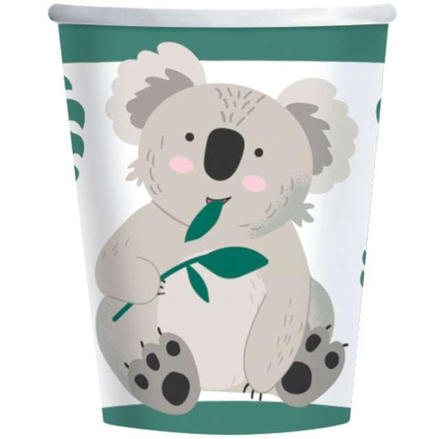 "Kubeczki papierowe ""Koala"", Amscan, 250 ml, 8 szt"