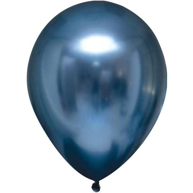 """Balony """"Shiny"""", niebieskie, Gemar, 5"""", 100 szt."""