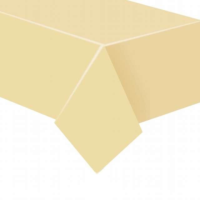 """Obrus papierowy """"Classic"""", beżowy, Godan, 183 x 132 cm"""