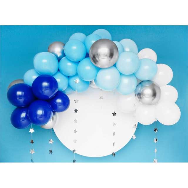 _xx_Girlanda balonowa - niebieska 200cm (1 op. / 60 szt.)
