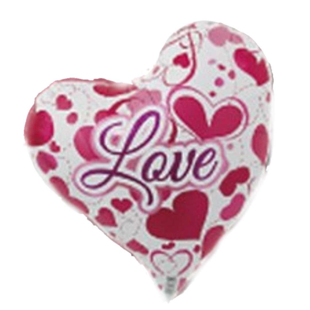 Balon foliowy Serce w serca Ibrex 14 HRT