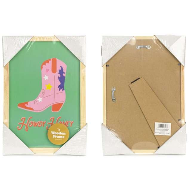 Ramka na zdjęcia Plakat - Howdy Honey PartyDeco 20 x 30 cm
