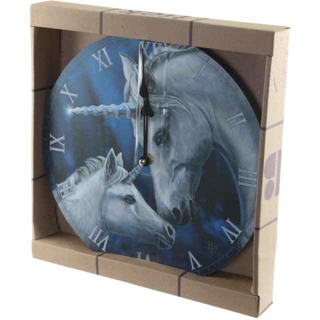 Zegar Jednorożce - Lisa Parker Puckator 32 cm