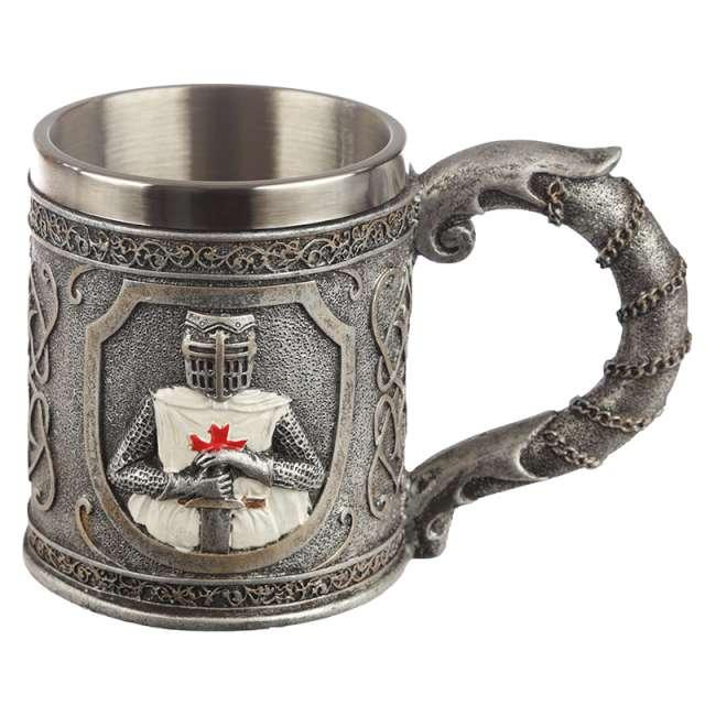 "Kufel ""Rycerz - Templariusz"", Puckator, 350 ml"