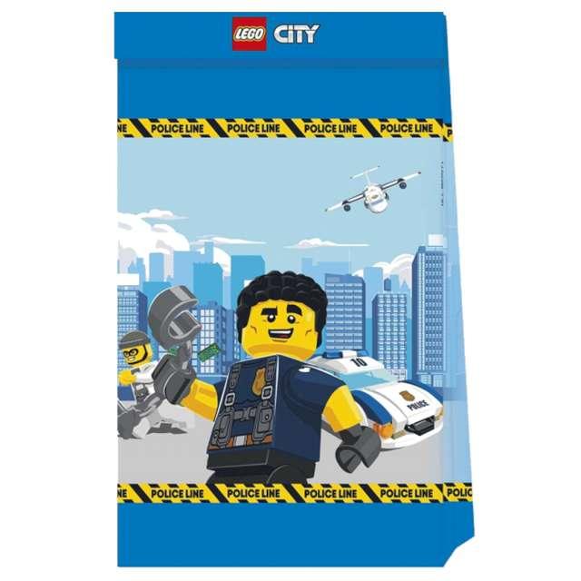 Torebki prezentowe Lego City Procos 4 szt