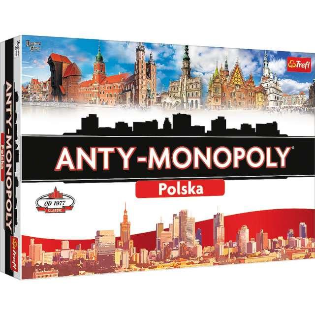 Gra planszowa Anty-Monopoly - Polska Trefl od 8 lat