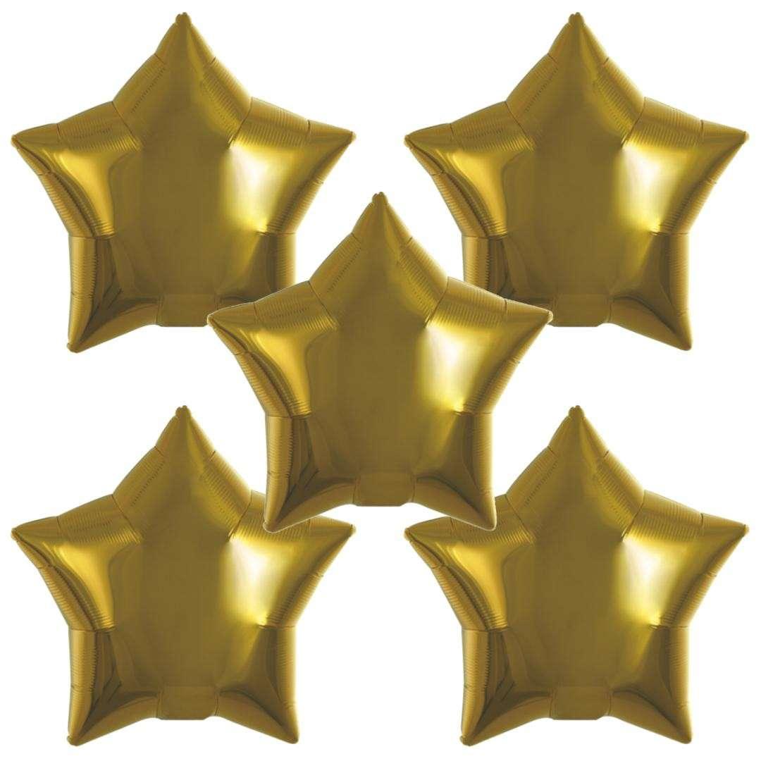 Balon foliowy Gwiazda złoty Ibrex 15 STR