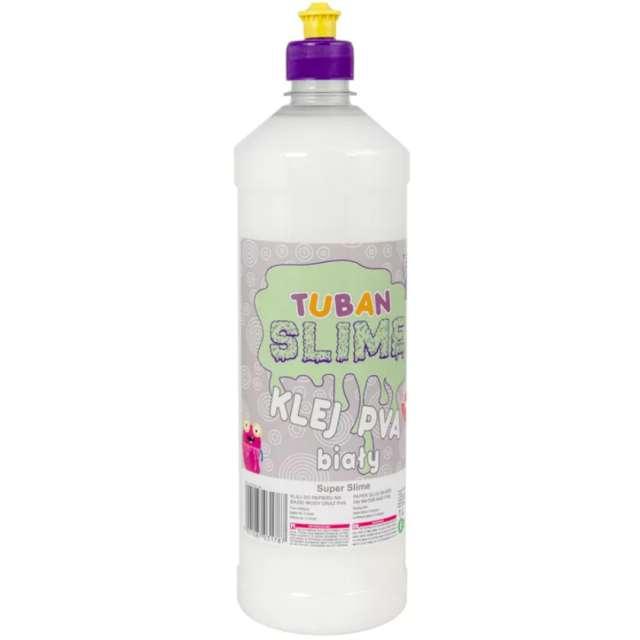 "Klej PVA ""Slime"", biały, Tuban, 1000 ml"