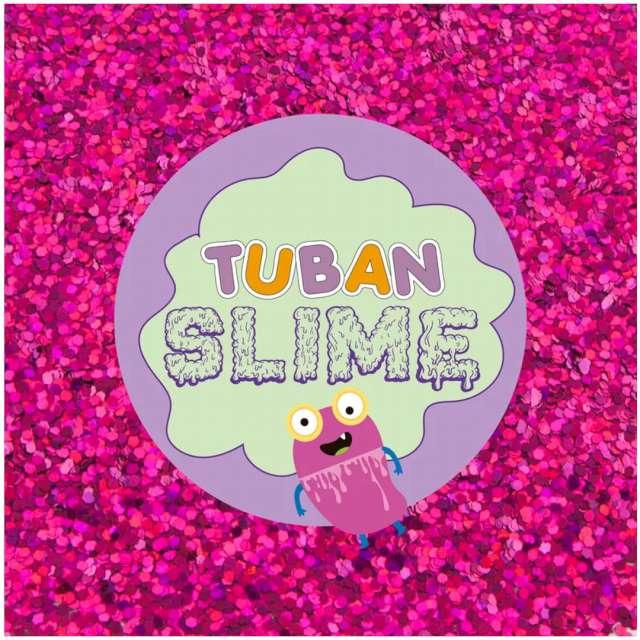 Brokat sypki Classic różowy 5g Tuban