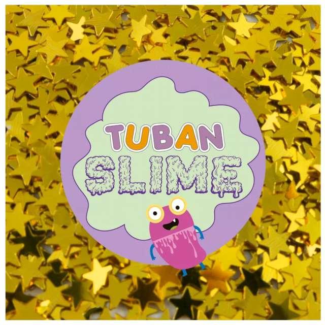 Brokat gwiazdki Classic złoty 5g Tuban
