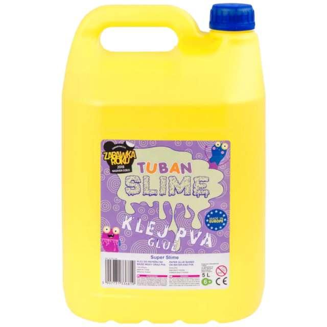 "Klej PVA ""Slime"", bezbarwny, Tuban, 5000 ml"