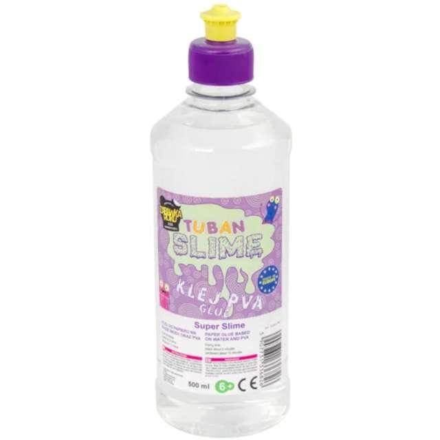 "Klej PVA ""Slime"", bezbarwny, Tuban, 500 ml"