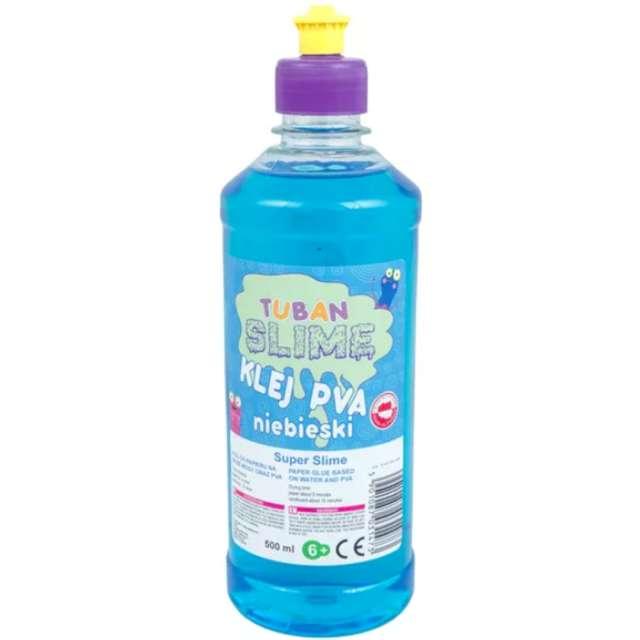Klej PVA Slime błękitny Tuban 500 ml