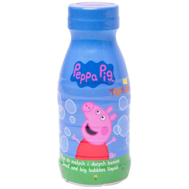 "Płyn do baniek mydlanych ""Świnka PEPPA"", TUBAN, 250ml"