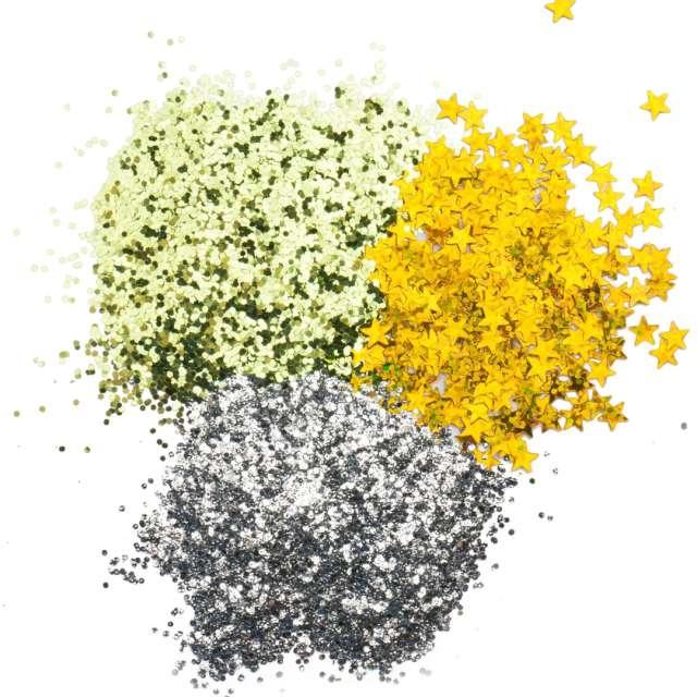 Brokaty Slime - Świąteczny czas mix kolorów i kształtów Tuban 3x5g