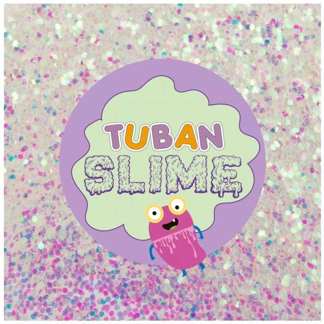 Brokat Slime - Płatki śniegu tęczowe Tuban 5g
