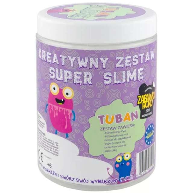 """Zestaw """"Super Slime Brokatowy"""", Tuban"""