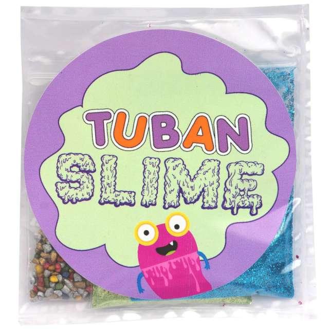 """Brokaty """"Slime - Odcienie natury"""", mix kolorów i kształtów, Tuban, 3x5g"""