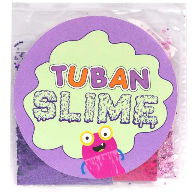 """Brokaty """"Slime - Różowa słodycz"""", mix kolorów i kształtów, Tuban, 3x5g"""